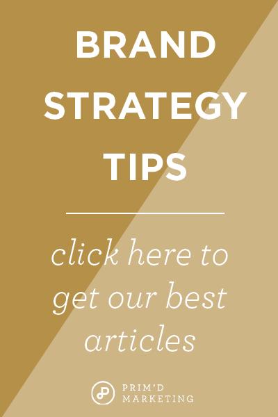 Primd Marketing - Brand Strategy Tips
