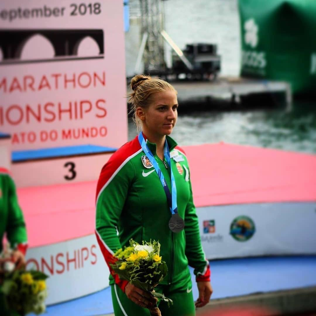 SARA MIHALIK - Sara is sprint and marathon kayak competitor. In 2017 she won the World Champion ICF Marathon Kayak World Championships K1 U23 and K2 Senior. In 2017 she was also Hungarian University Sportswoman of the Year and Hungarian Women's Marathon Paddler of the Year. She placed 4th in the U23 ICF Sprint Kayak World Championships and won a Silver Medal, U23 ECA U23 European Championships. She definitely rocks the boat!!