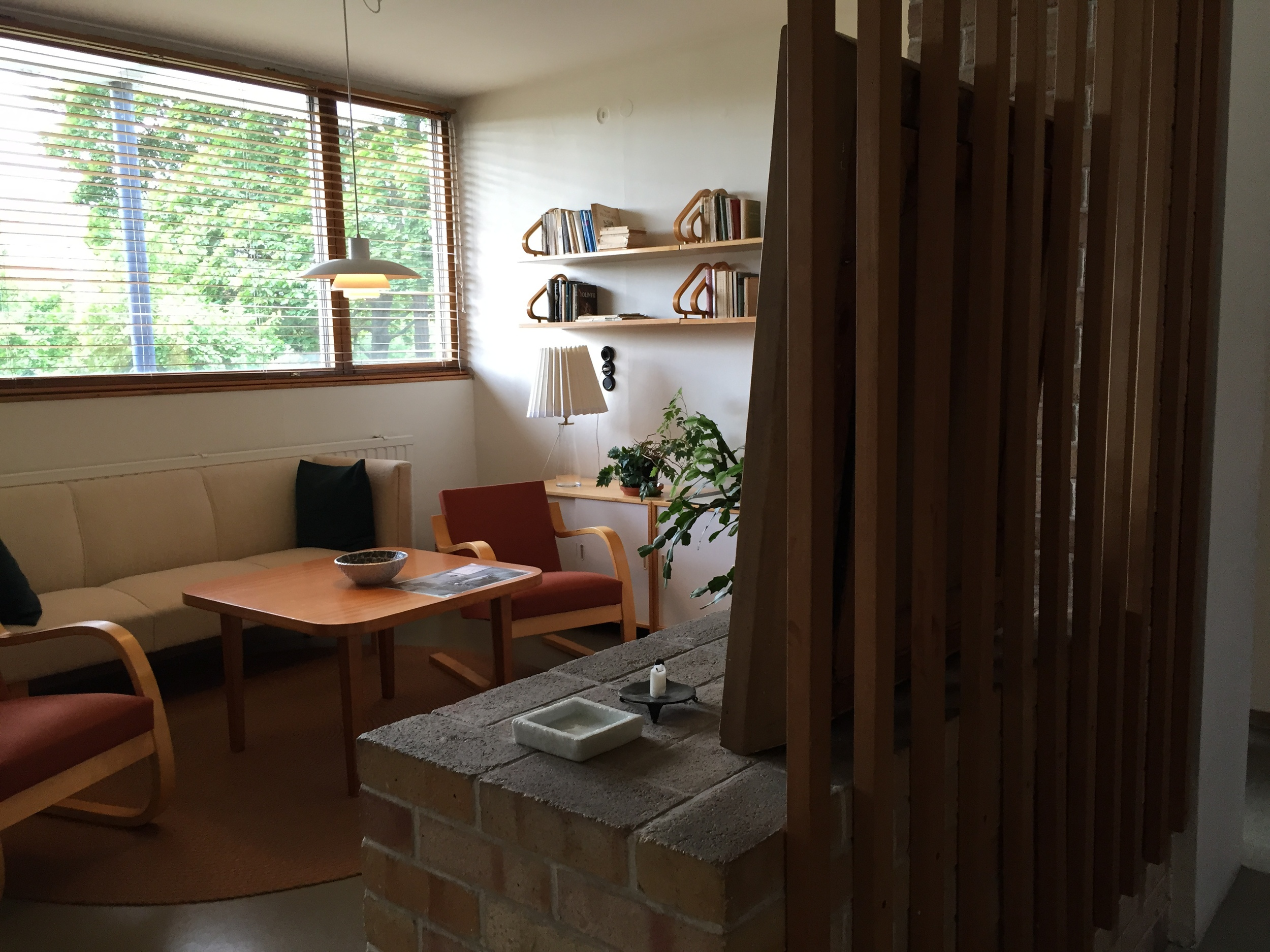 Upstairs living room / Aalto House / 11 July 2015