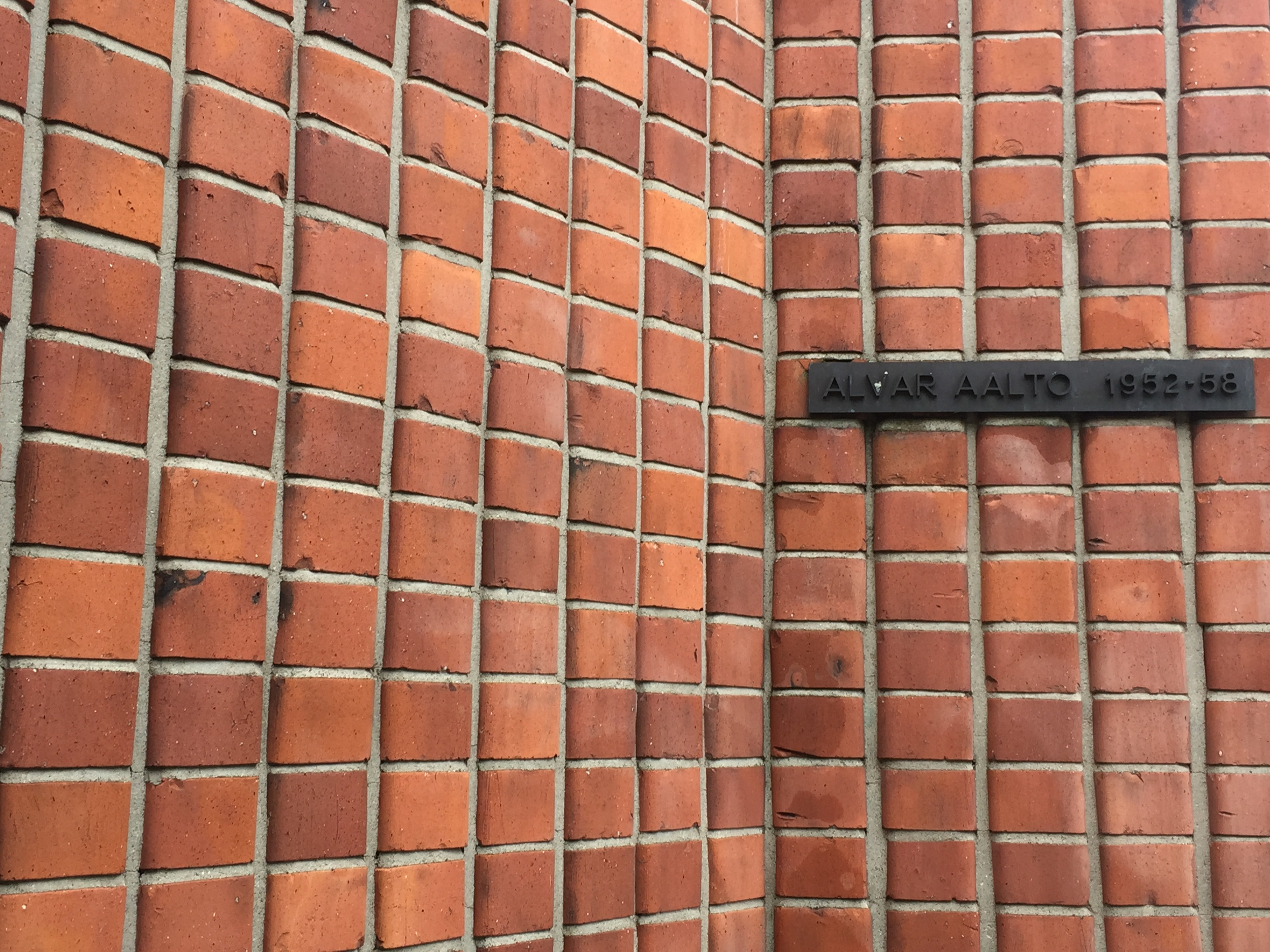Brick detail / Hall of Culture / 12 July 2015