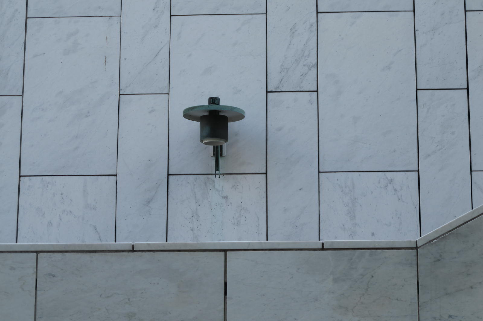 Lamp detail / Finlandia Hall / 12 July 2015