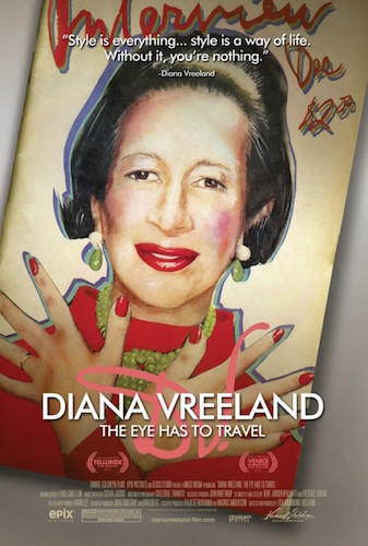 Diane Vreeland: The Eye Has to Travel