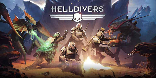 This image sums up Helldivers quite well.