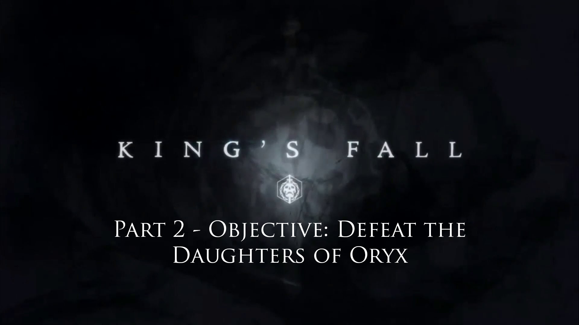 In-depth look at - Objective: Defeat the Daughters of Oryx