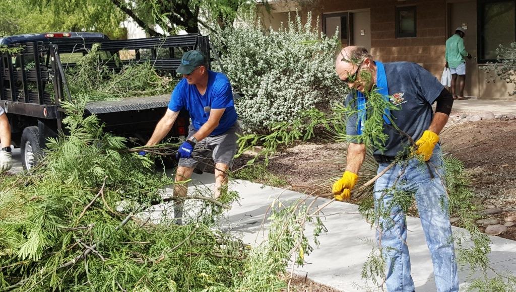 Cleanup at Davis-Monthan-Greg Jester, Pete Bodnaruk.jpg