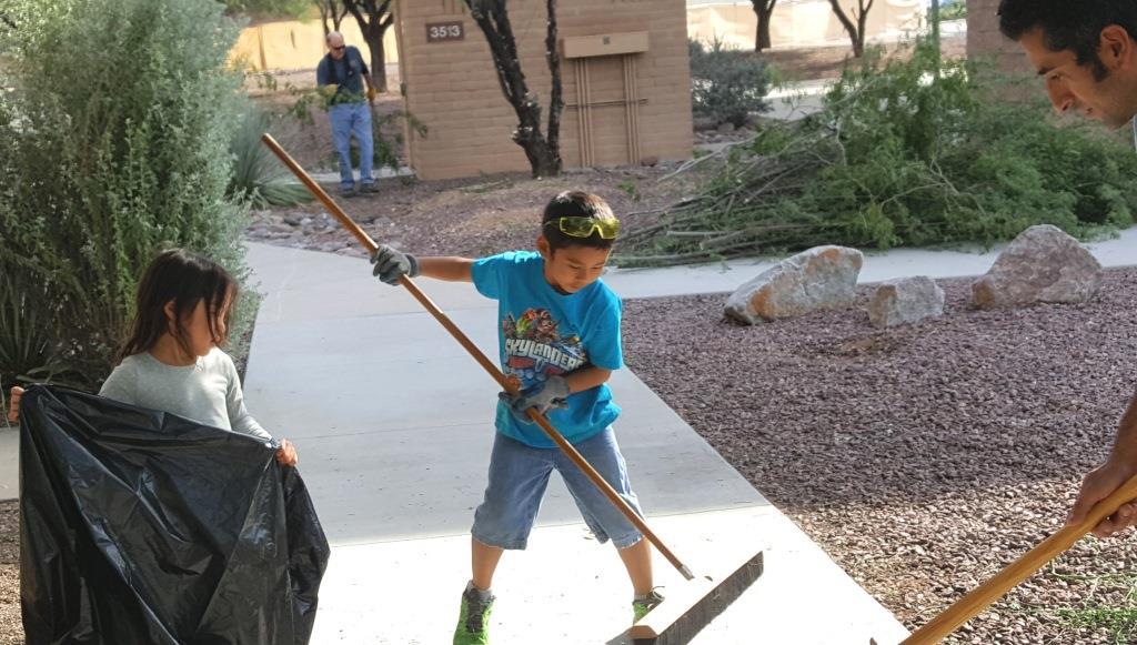 Cleanup at DM-Johnny, Maddux, and Molly Fajardo.jpg