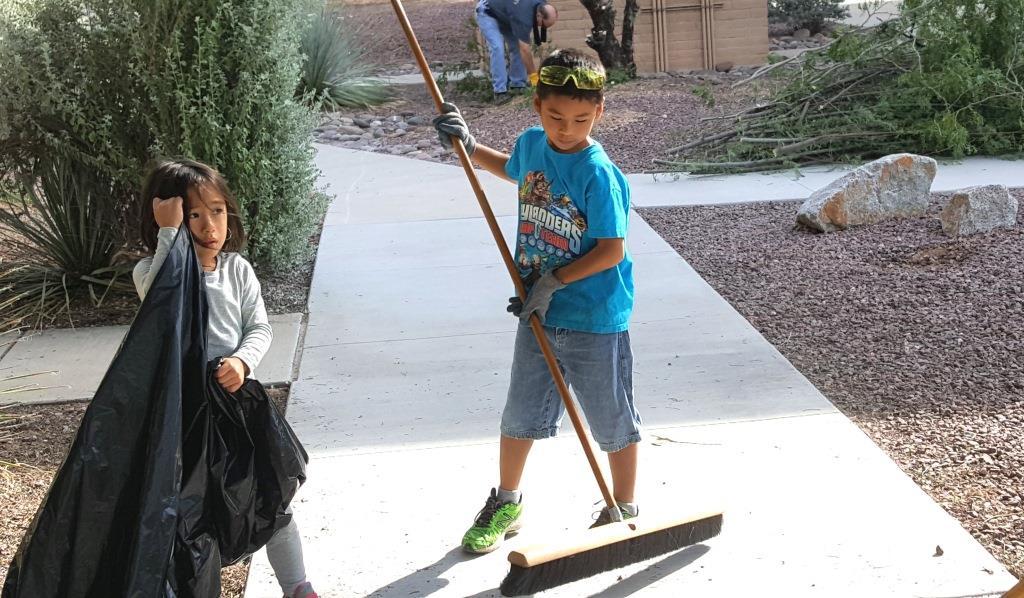 Cleanup at DM-Maddux, and Molly Fajardo.jpg