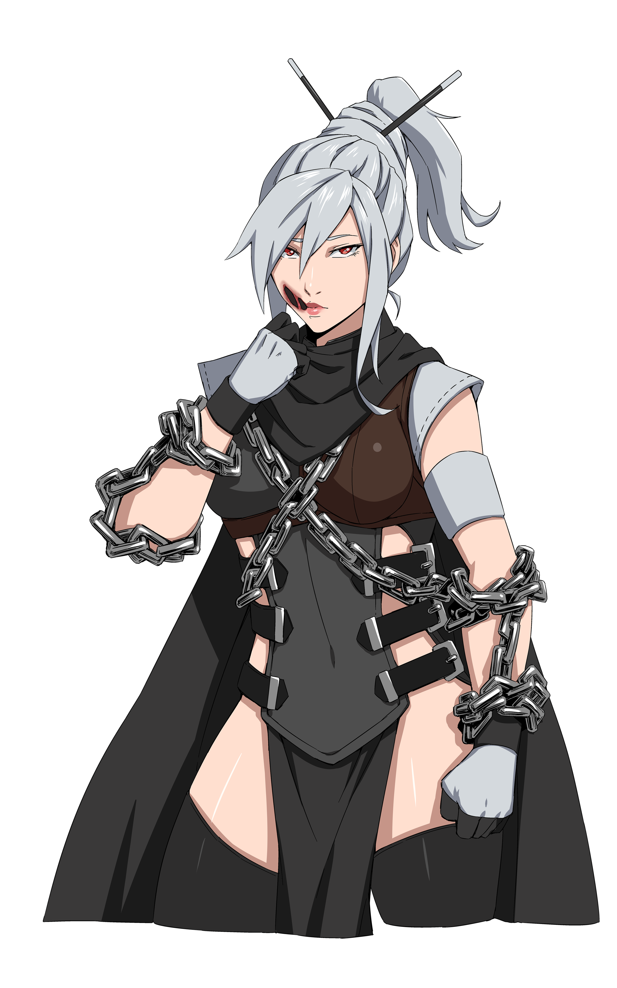 A loyal retainer for the Imperial family and one of the Empire's most respected warriors. She is seen by Aya as an aunt of sorts, someone always looking out for her that she can turn to.