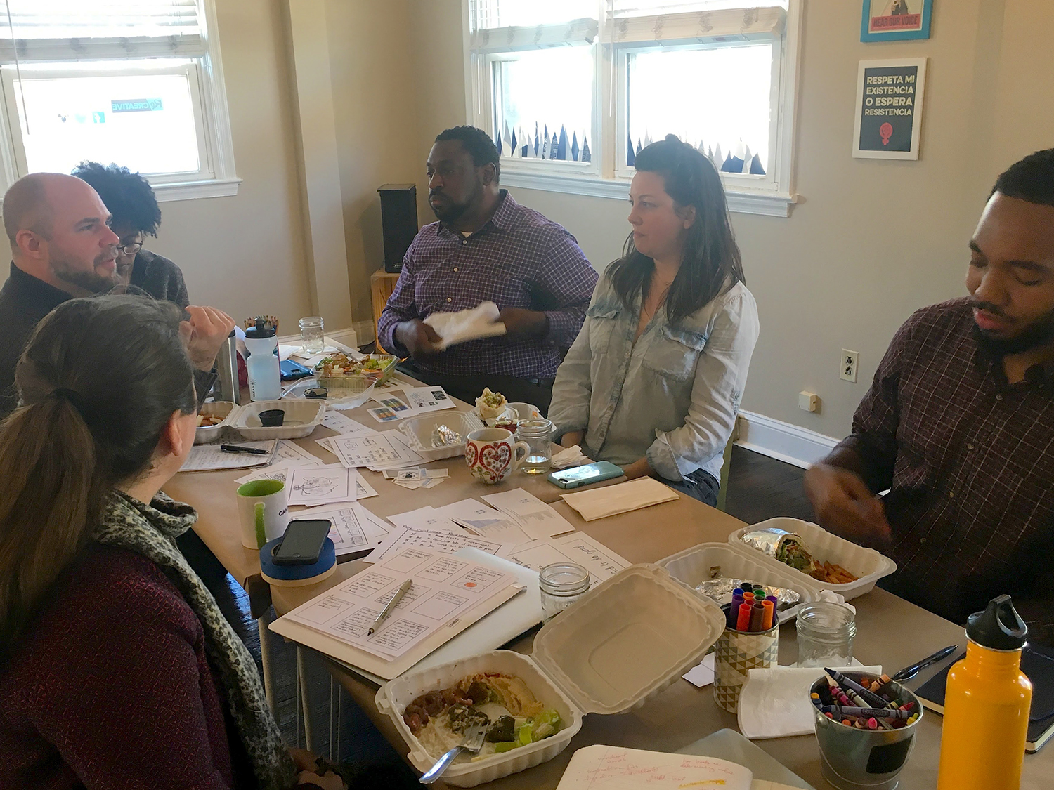 D.C. small business owners charrette
