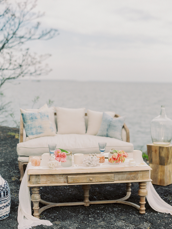 Coastal Beach Wedding Inspiration East Made Event Company