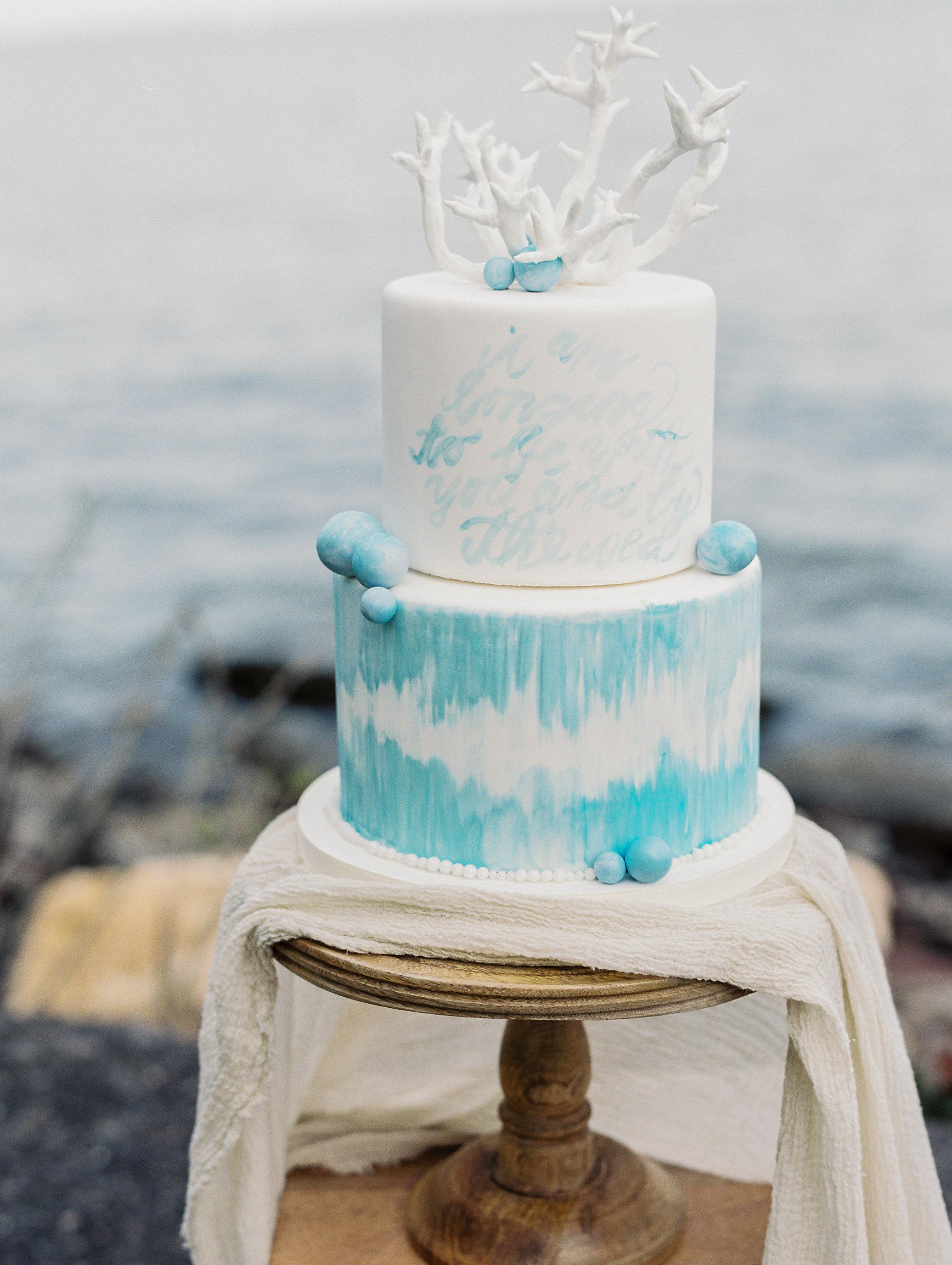 Coastal Beach Wedding Inspiration East Made Event Company Maryland wedding planner