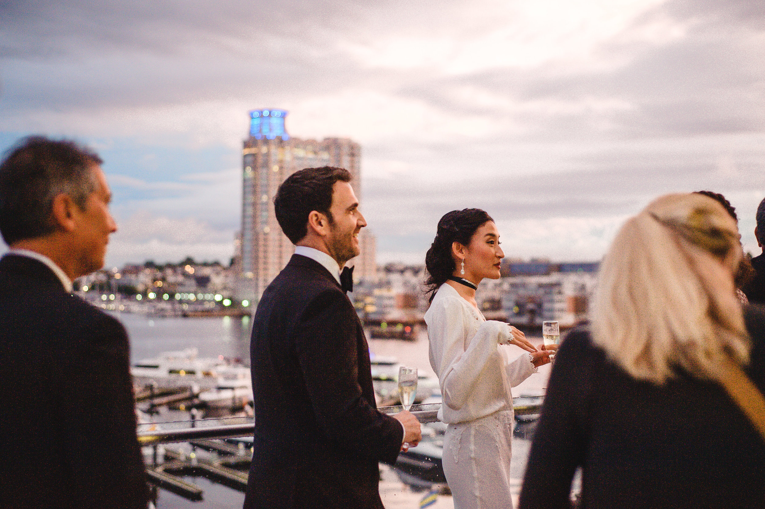 Baltimore Legg Mason Tower Wedding | East Made Event Company Baltimore Maryland Wedding Planner | Photo by Hannah Gunnell2781.jpg