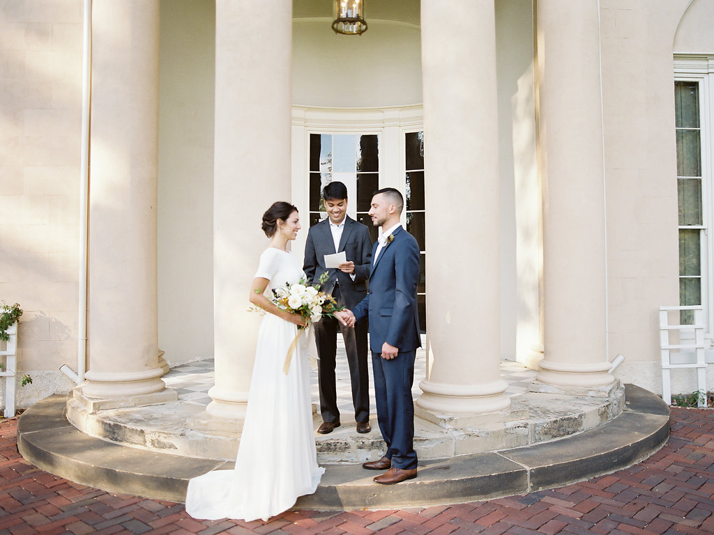French Inspired Fall Wedding with Fine Art Destination Wedding Planner East Made Event Company and DC Film Photographer Vicki Grafton Photography at Tudor Place in Washington DC-15.jpg
