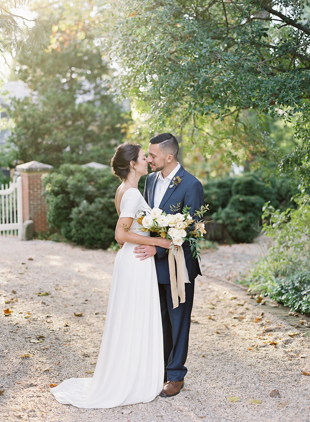 French Inspired Fall Wedding with Fine Art Destination Wedding Planner East Made Event Company and DC Film Photographer Vicki Grafton Photography at Tudor Place in Washington DC-21.jpg