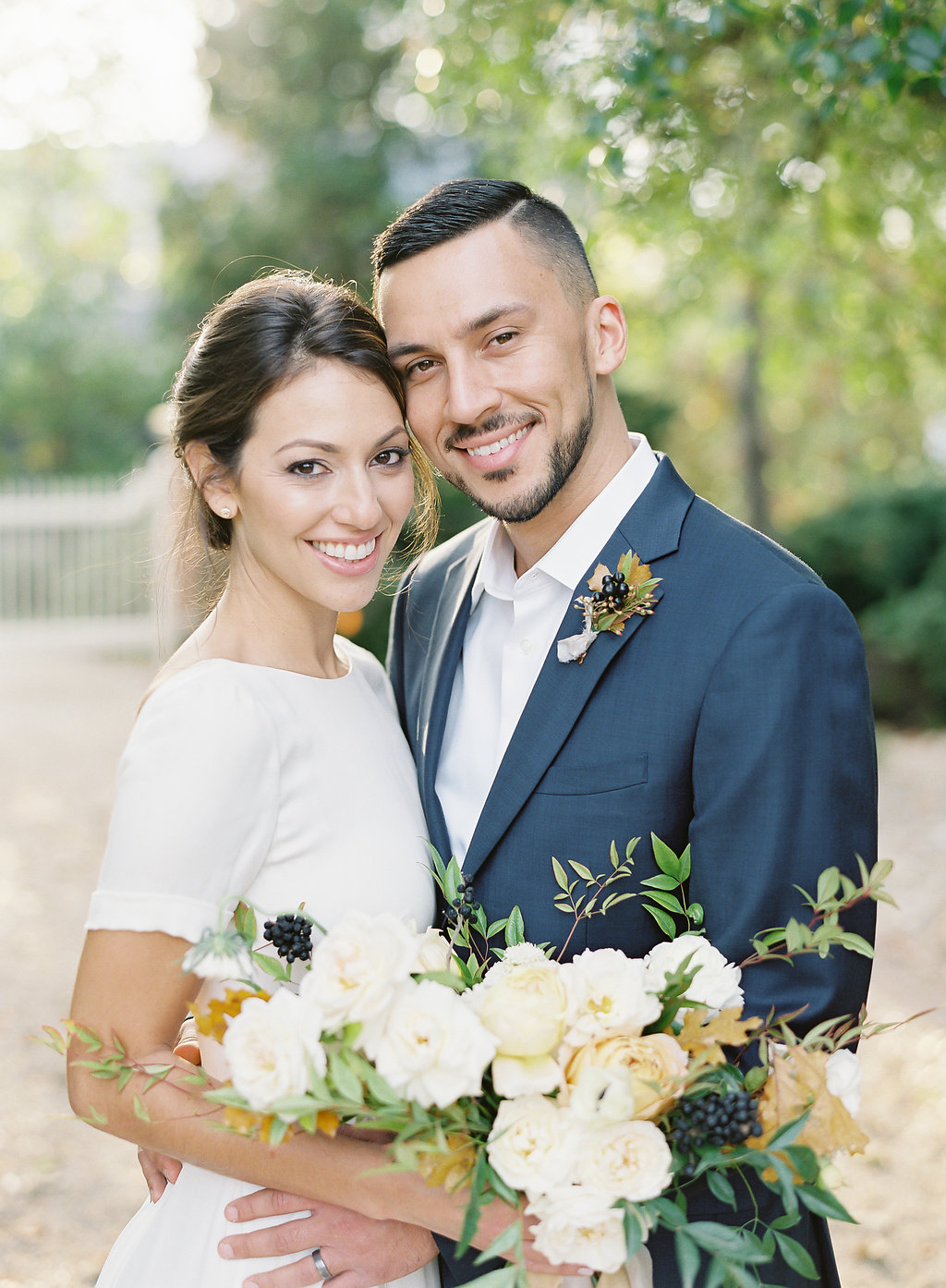 French Inspired Fall Wedding with Fine Art Destination Wedding Planner East Made Event Company and DC Film Photographer Vicki Grafton Photography at Tudor Place in Washington DC-29.jpg