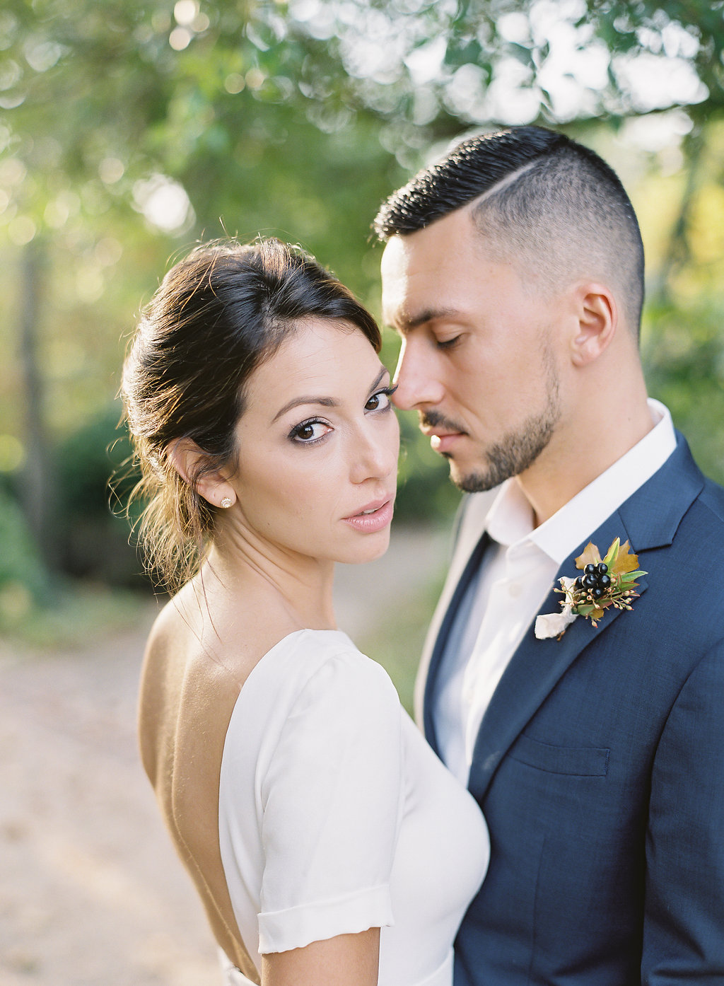 French Inspired Fall Wedding with Fine Art Destination Wedding Planner East Made Event Company and DC Film Photographer Vicki Grafton Photography at Tudor Place in Washington DC-41.jpg