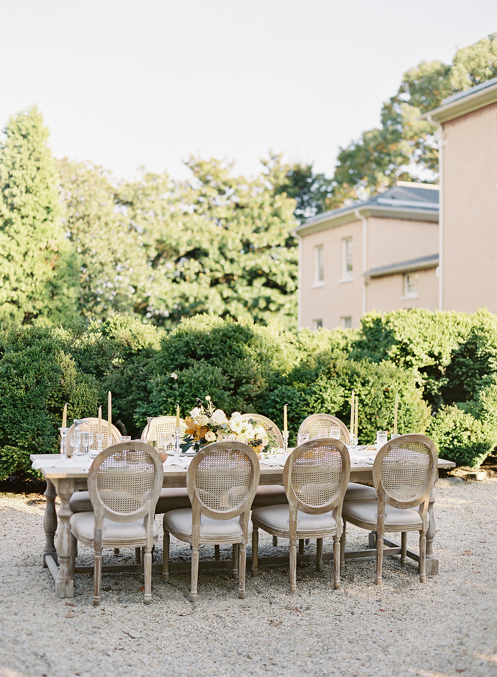 French Inspired Fall Wedding with Fine Art Destination Wedding Planner East Made Event Company and DC Film Photographer Vicki Grafton Photography at Tudor Place in Washington DC-63.jpg