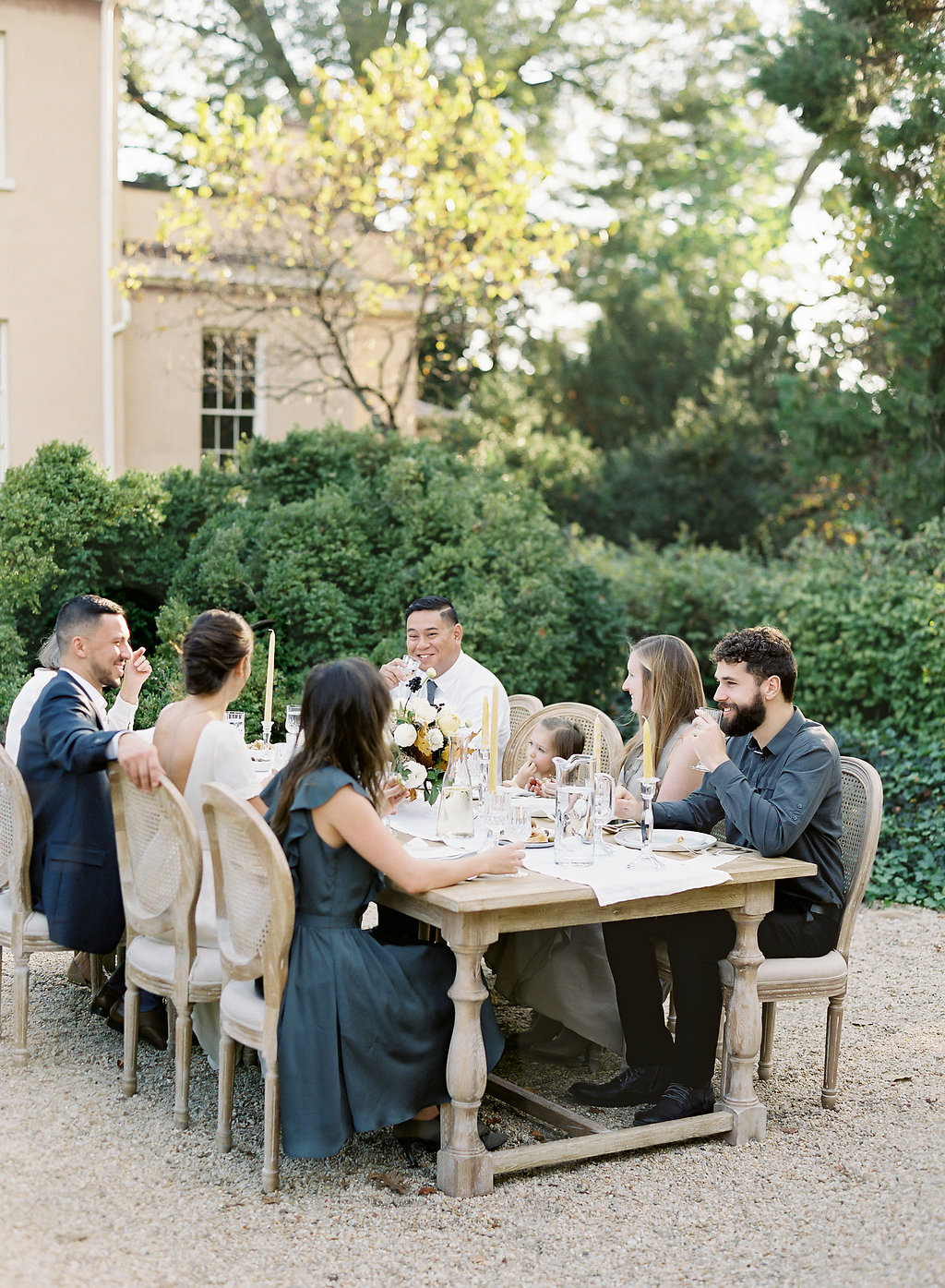 French Inspired Fall Wedding with Fine Art Destination Wedding Planner East Made Event Company and DC Film Photographer Vicki Grafton Photography at Tudor Place in Washington DC-78.jpg