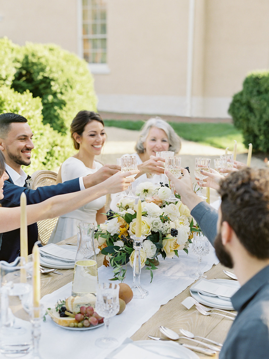 French Inspired Fall Wedding with Fine Art Destination Wedding Planner East Made Event Company and DC Film Photographer Vicki Grafton Photography at Tudor Place in Washington DC-89.jpg