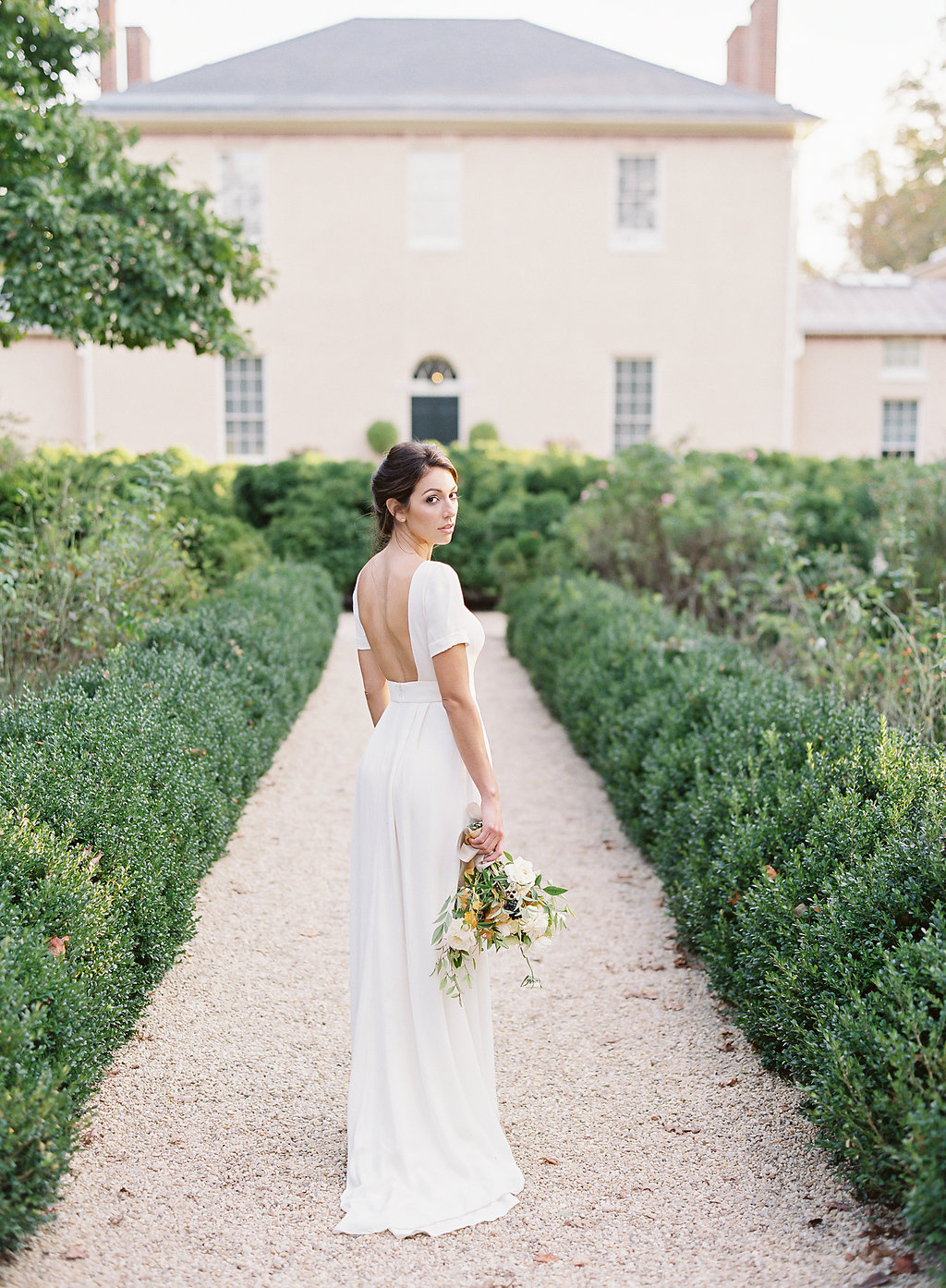 French Inspired Fall Wedding with Fine Art Destination Wedding Planner East Made Event Company and DC Film Photographer Vicki Grafton Photography at Tudor Place in Washington DC-102.jpg