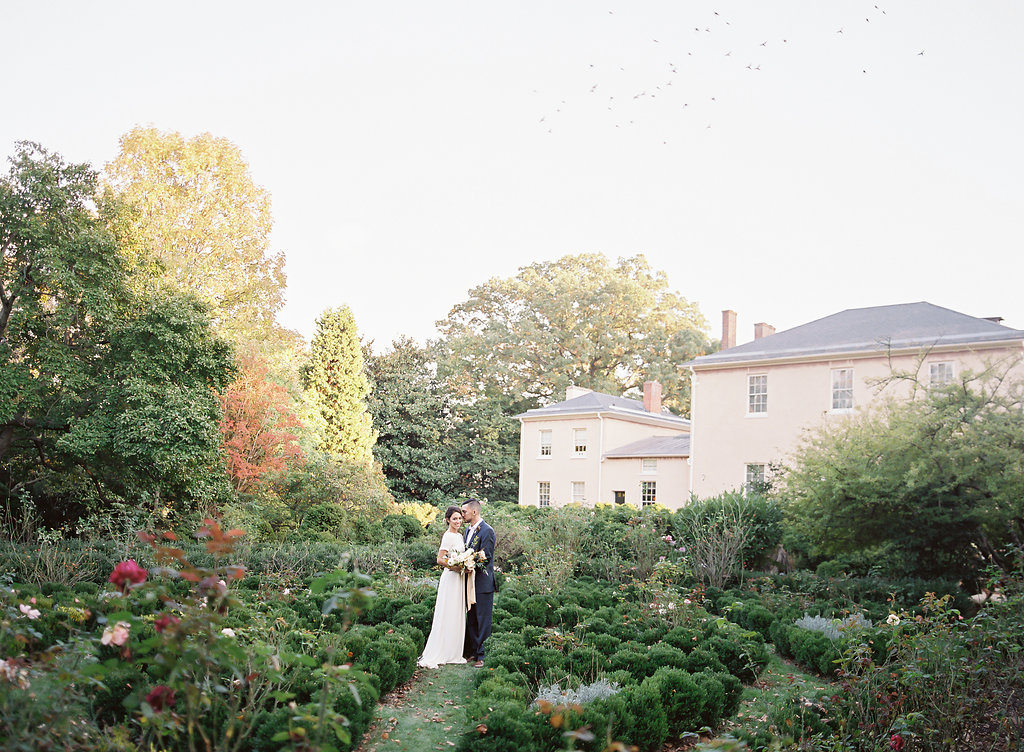 French Inspired Fall Wedding with Fine Art Destination Wedding Planner East Made Event Company and DC Film Photographer Vicki Grafton Photography at Tudor Place in Washington DC-134.jpg
