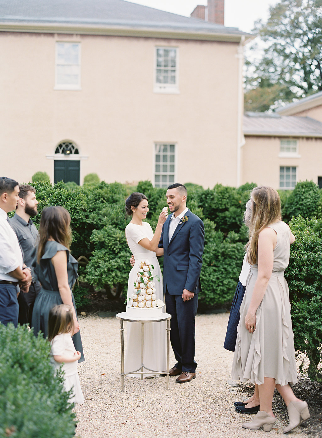 French Inspired Fall Wedding with Fine Art Destination Wedding Planner East Made Event Company and DC Film Photographer Vicki Grafton Photography at Tudor Place in Washington DC-148.jpg