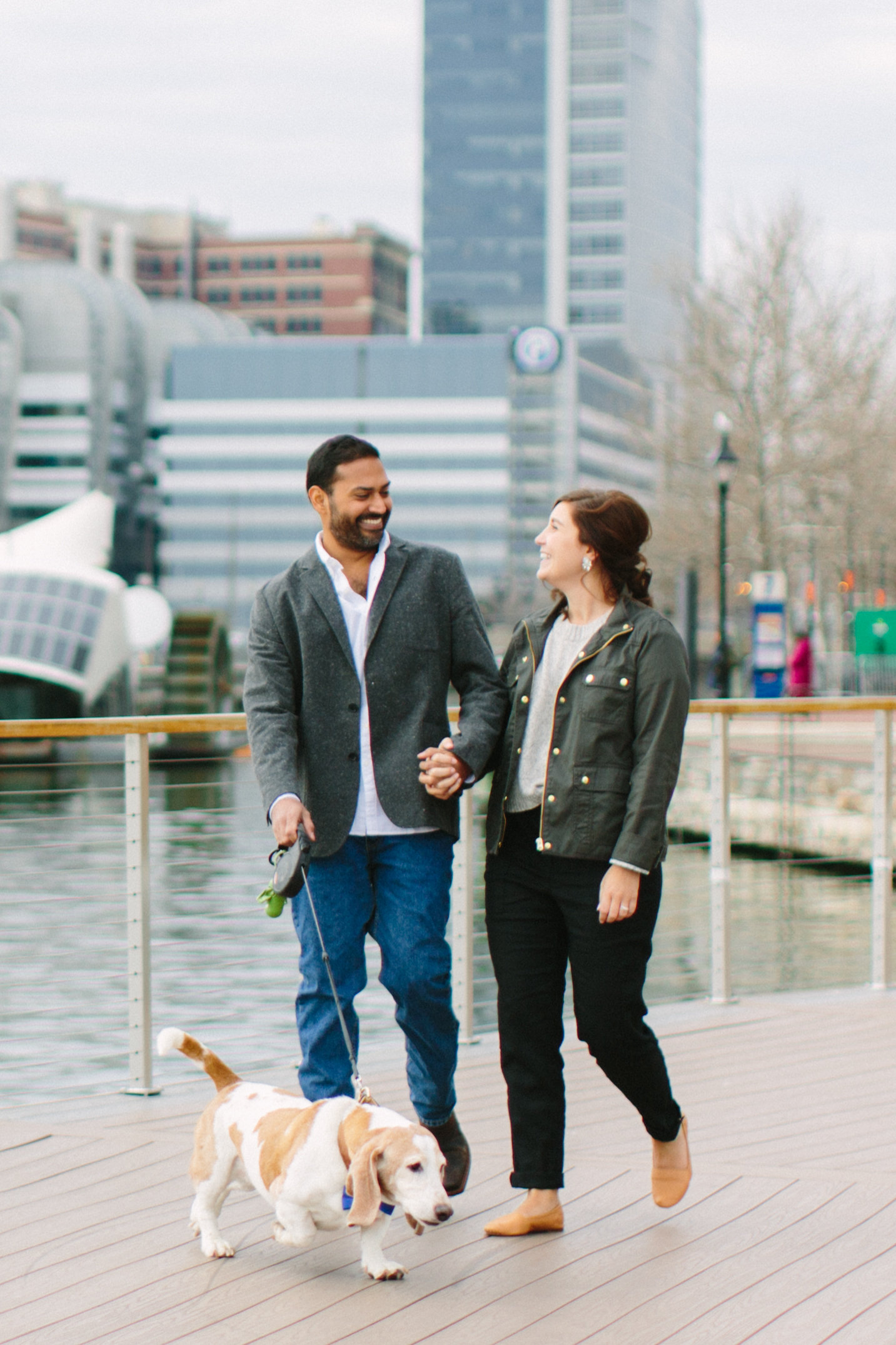Baltimore Inner Harbor waterfront engagement photography session with Nicki Metcalf Photography-0005.jpg