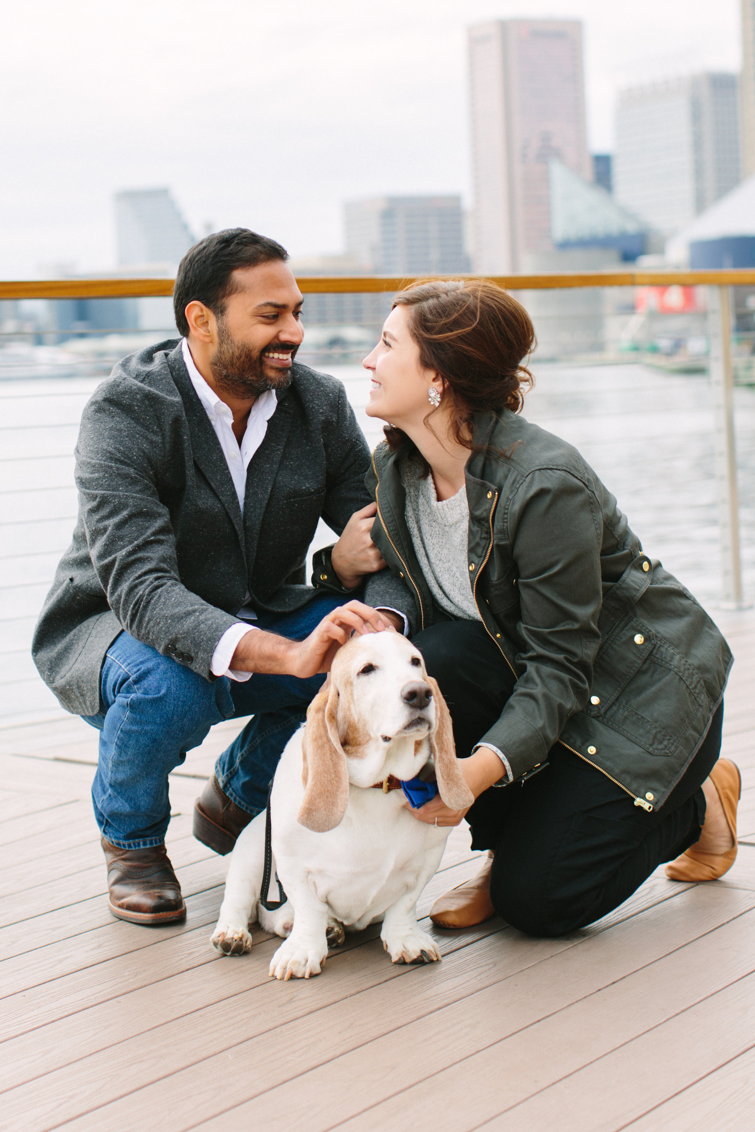 Baltimore Inner Harbor waterfront engagement photography session with Nicki Metcalf Photography-0006.jpg