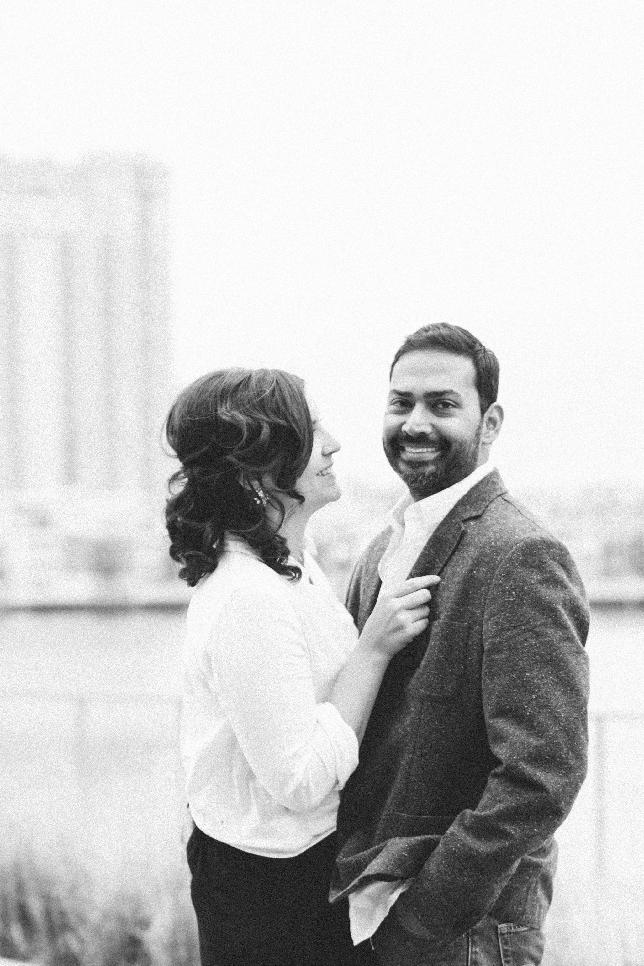 Baltimore Inner Harbor waterfront engagement photography session with Nicki Metcalf Photography-0020.jpg