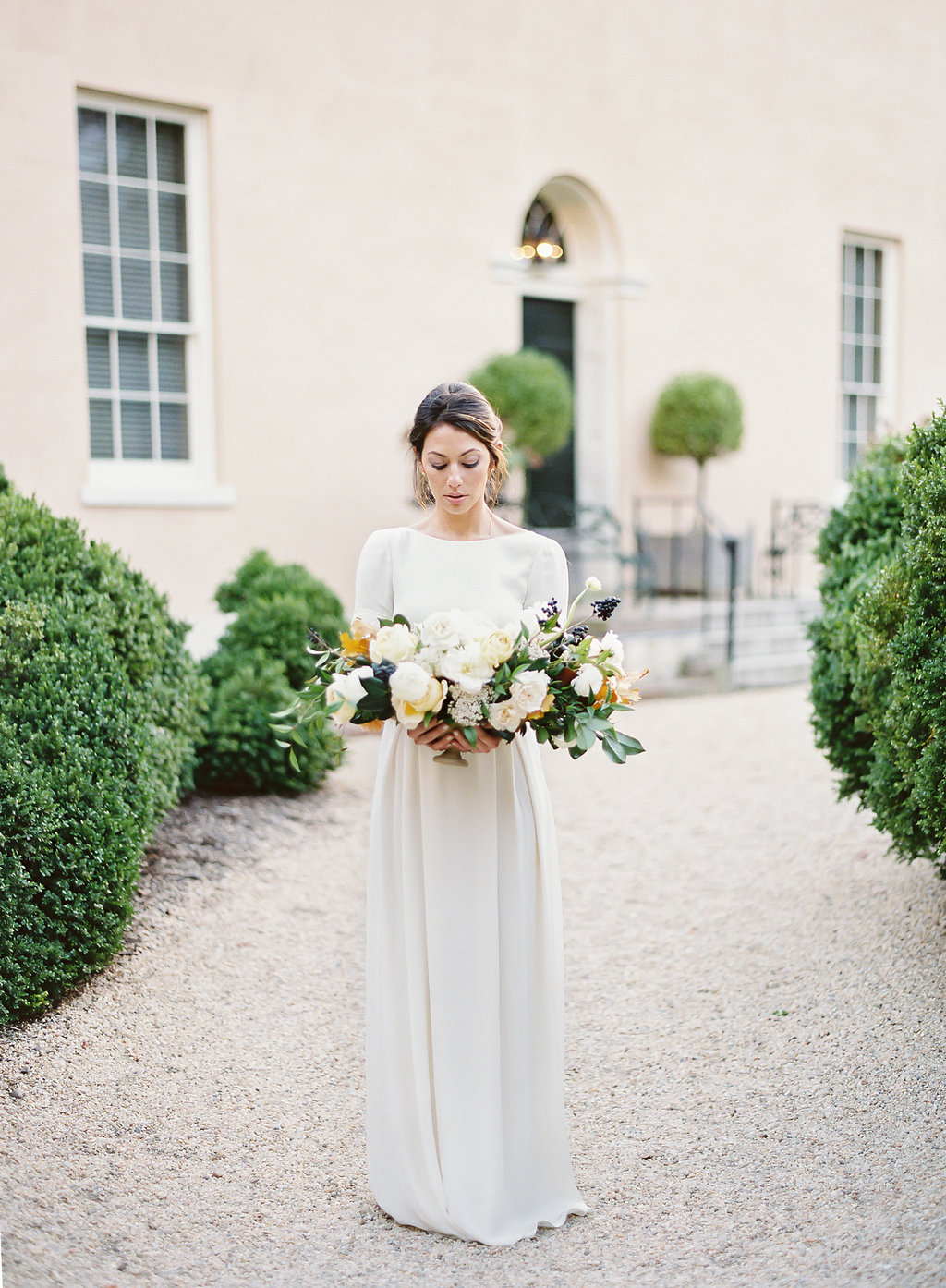French Inspired Fall Wedding with Fine Art Destination Wedding Planner East Made Event Company and DC Film Photographer Vicki Grafton Photography at Tudor Place in Washington DC-107 copy.jpg