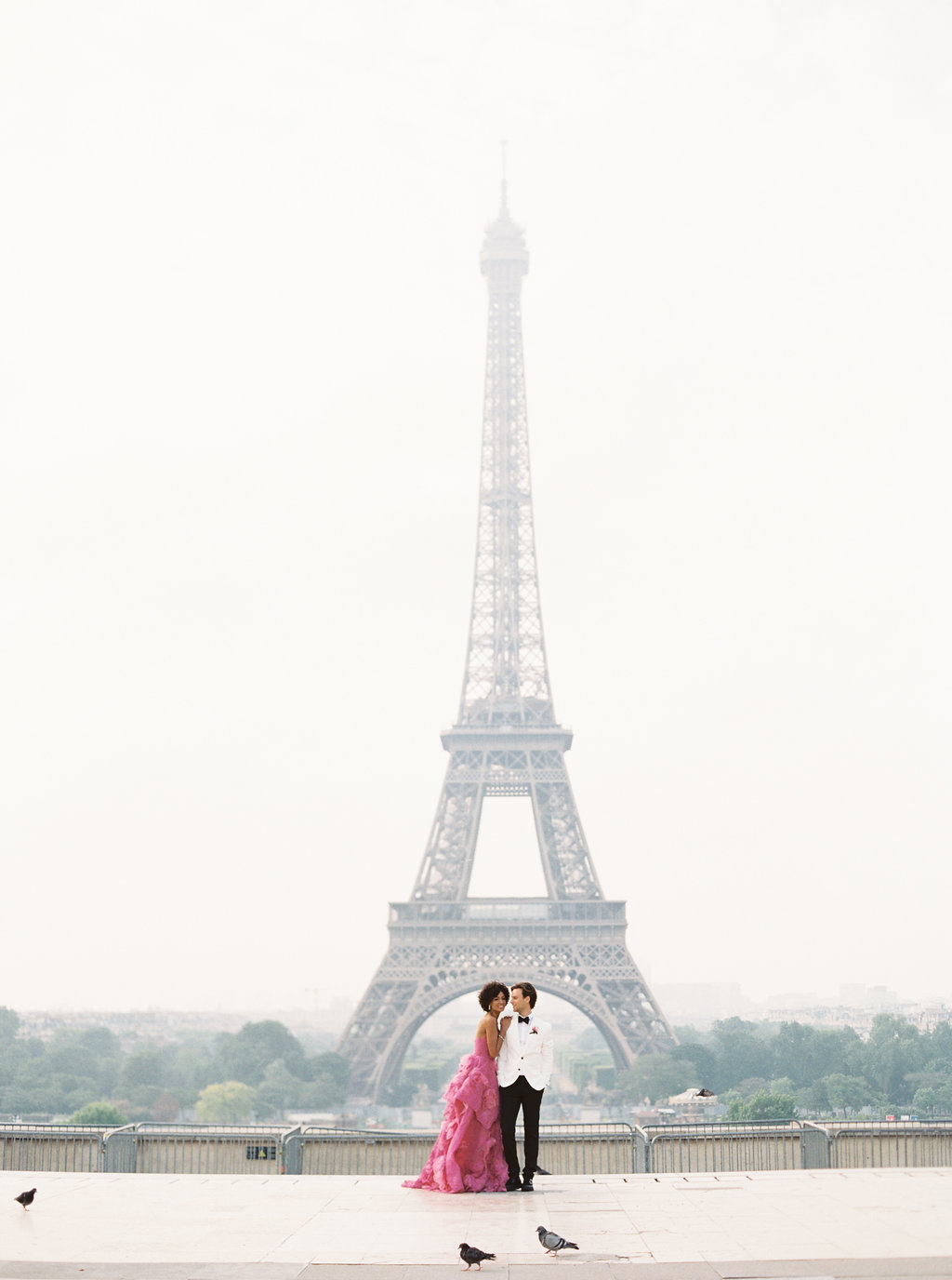 Trocadero Paris Elopement with pink Marchesa gown by East Made Event Company and Sophie Kaye Photography(86of121).jpg