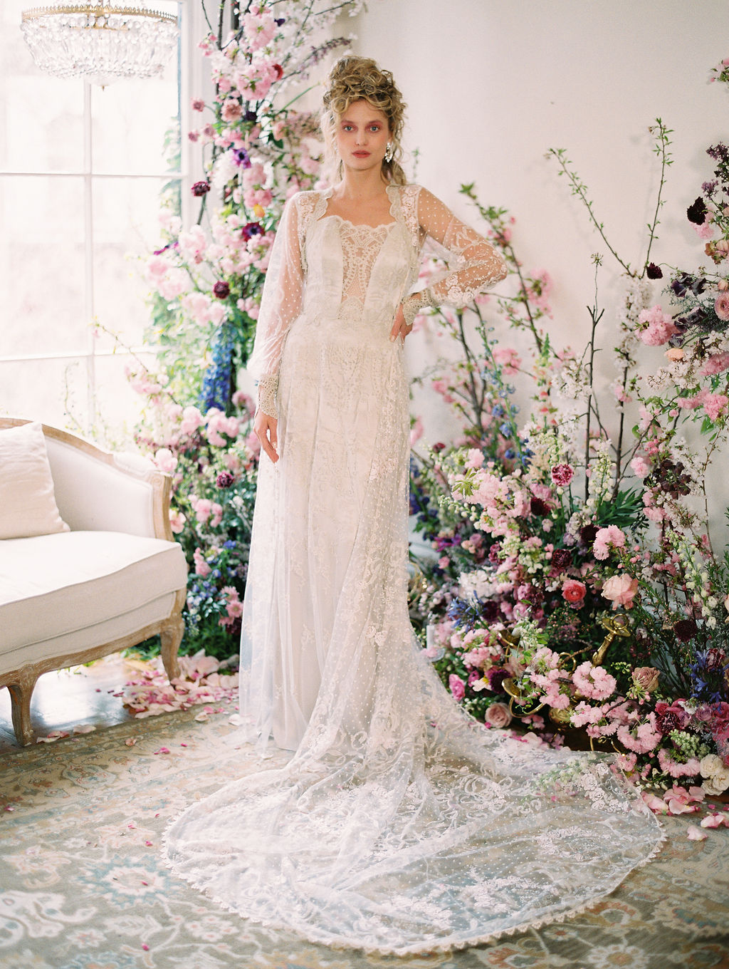 Claire Pettibone Timeless Wedding Dresses New York Bridal Fashion Week with East Made Co and Sophie Kaye Photography Spring 2019(60of353).jpg