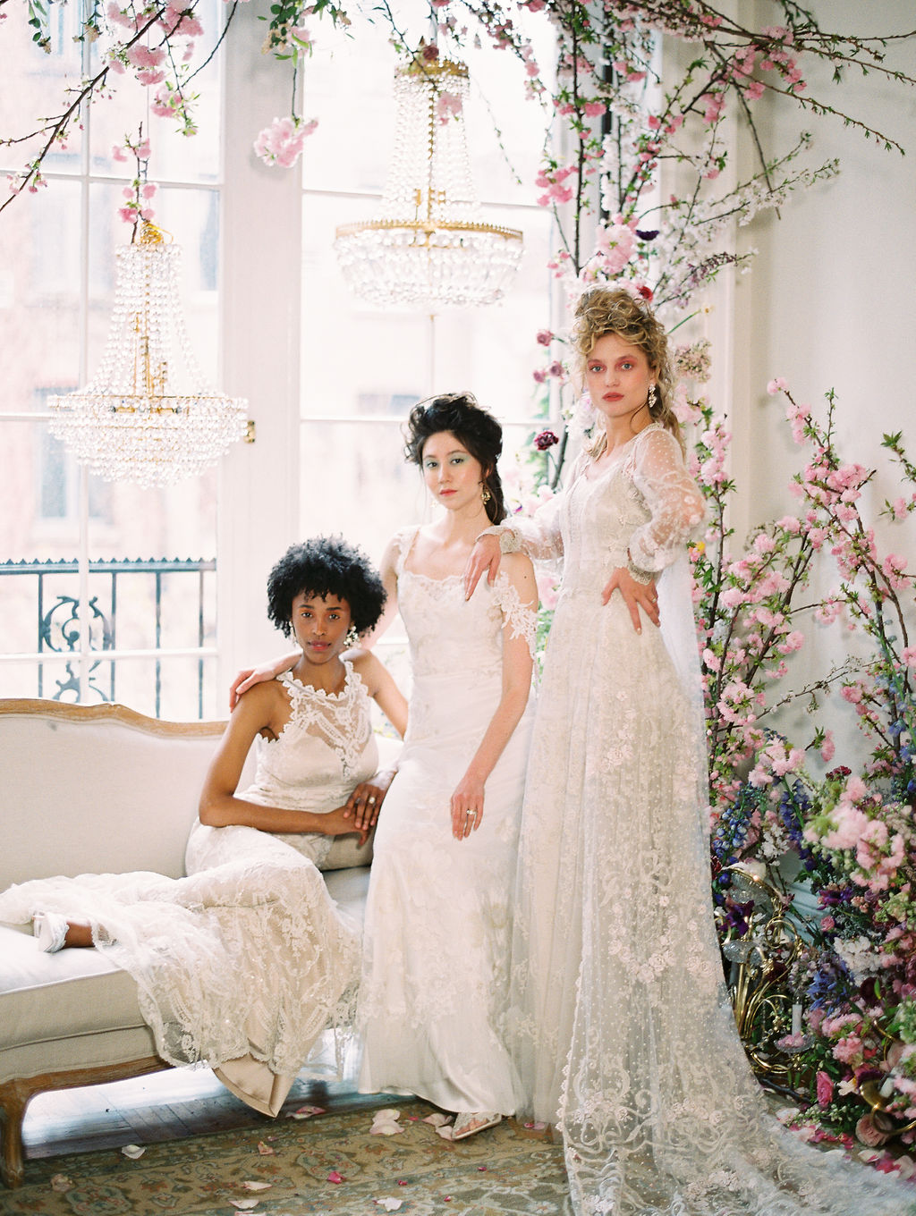 Claire Pettibone Timeless Wedding Dresses New York Bridal Fashion Week with East Made Co and Sophie Kaye Photography Spring 2019(106of353).jpg