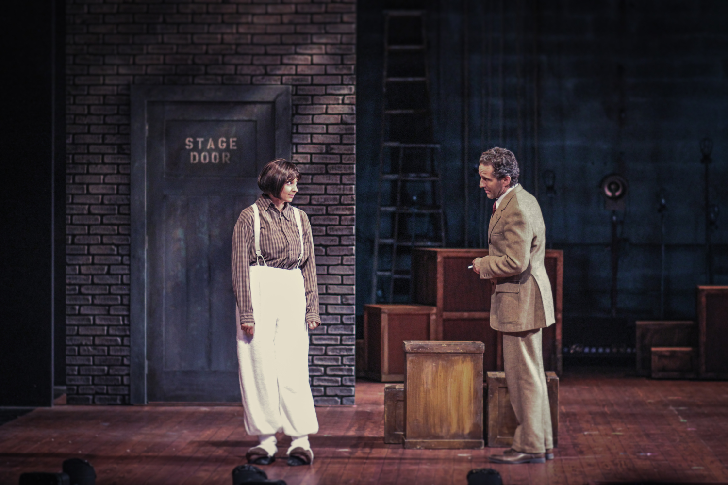Amandina Altomare and Scott Ripley in  Gypsy  at Connecticut Repertory Theatre. Directed and Produced by Vincent J. Cardinal