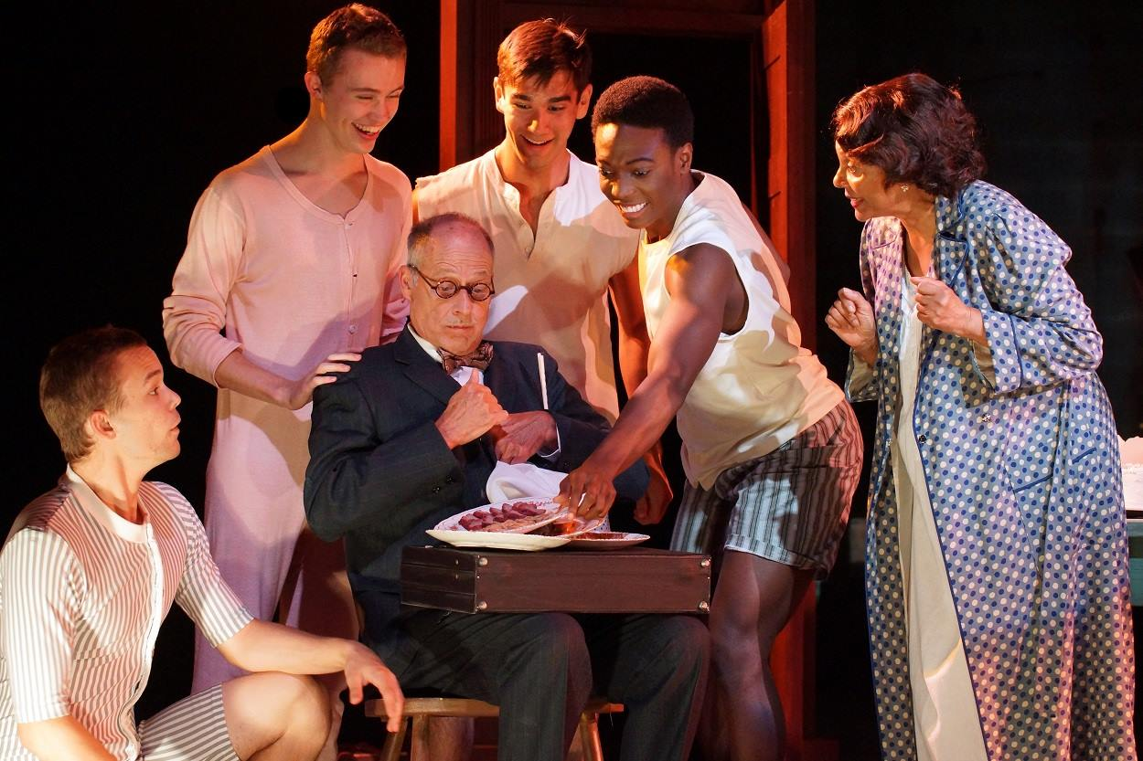 Leslie Uggams and Dale Rose in  Gypsy  at Connecticut Repertory Theatre. Directed and Produced by Vincent J. Cardinal