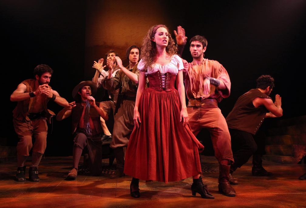 Alix Paige in  Man of La Mancha  at Connecticut Repertory Theatre. Directed and Produced by Vincent J. Cardinal.