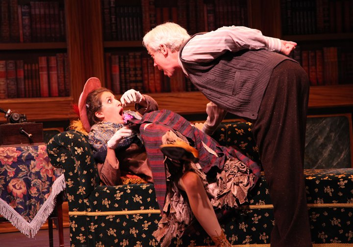 Terrence Mann and Alix Paige in  My Fair Lady  directed and produced by Vincent J. Cardinal.
