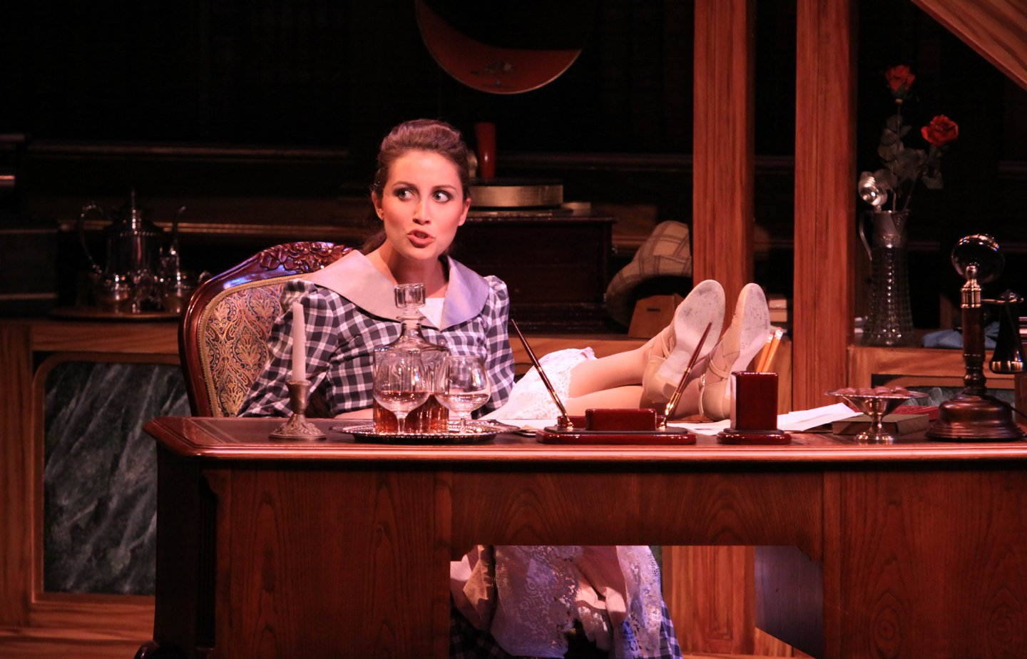 Alix Paige in  My Fair Lady  directed and produced by Vincent J. Cardinal.