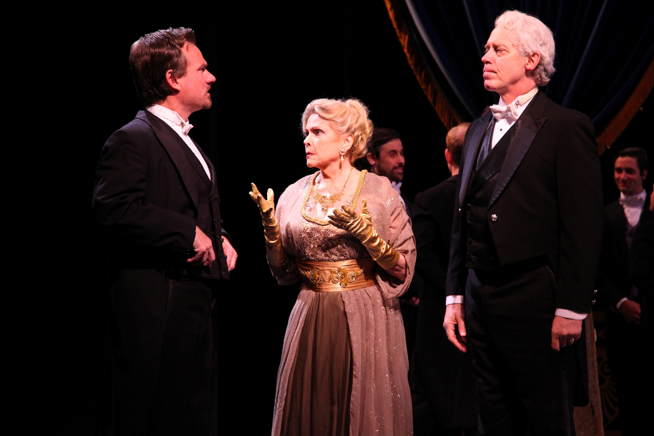 Tim Gulan, Eileen Fulton and Terrence Mann in  My Fair Lady  directed and produced by Vincent J. Cardinal.