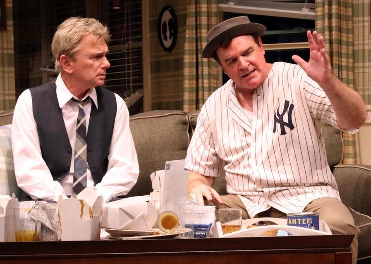 Pat Sajak & Joe Moore in  The Odd Couple  at Connecticut Repertory Theatre. Directed and Produced by Vincent J. Cardinal.