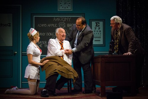 Sarah Andreas, Jerry Adler, Richard Ruiz and Steve Hayesin  The Sunshine Boys  Produced and Directed by Vincent J. Cardinal
