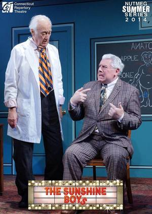 Jerry Adler and Steve Hayesin  The Sunshine Boys  Produced and Directed by Vincent J. Cardinal
