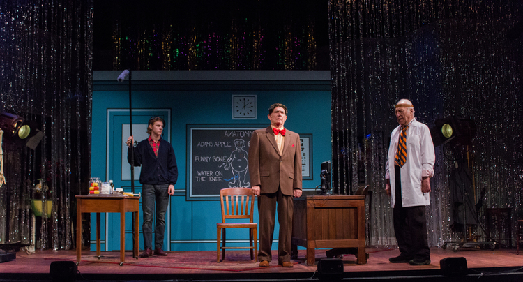 ConorDonnally, Richard Kline andJerry Adler in  The Sunshine Boys  Produced and Directed by Vincent J. Cardinal