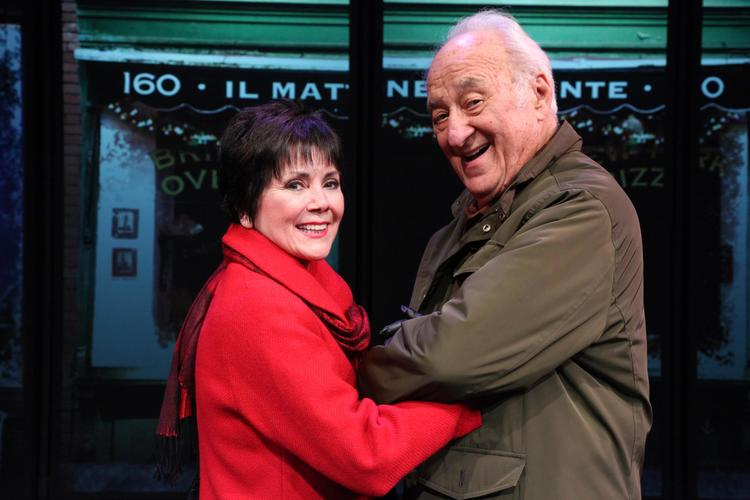 "Jerry Adler and Joyce DeWitt in the world premiere of I'M CONNECTICUT! a ""must see"" new comedy by Mike Reiss"