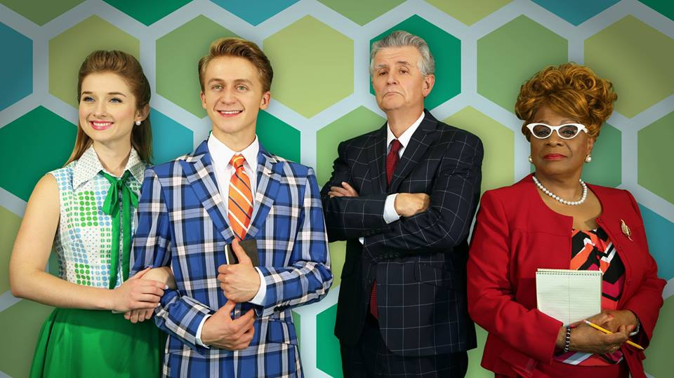 How To Succeed In Business WIthout Really Trying  starring Sarah Schennken, Riley Costello,Fred Grandy, & Tina Fabrique.