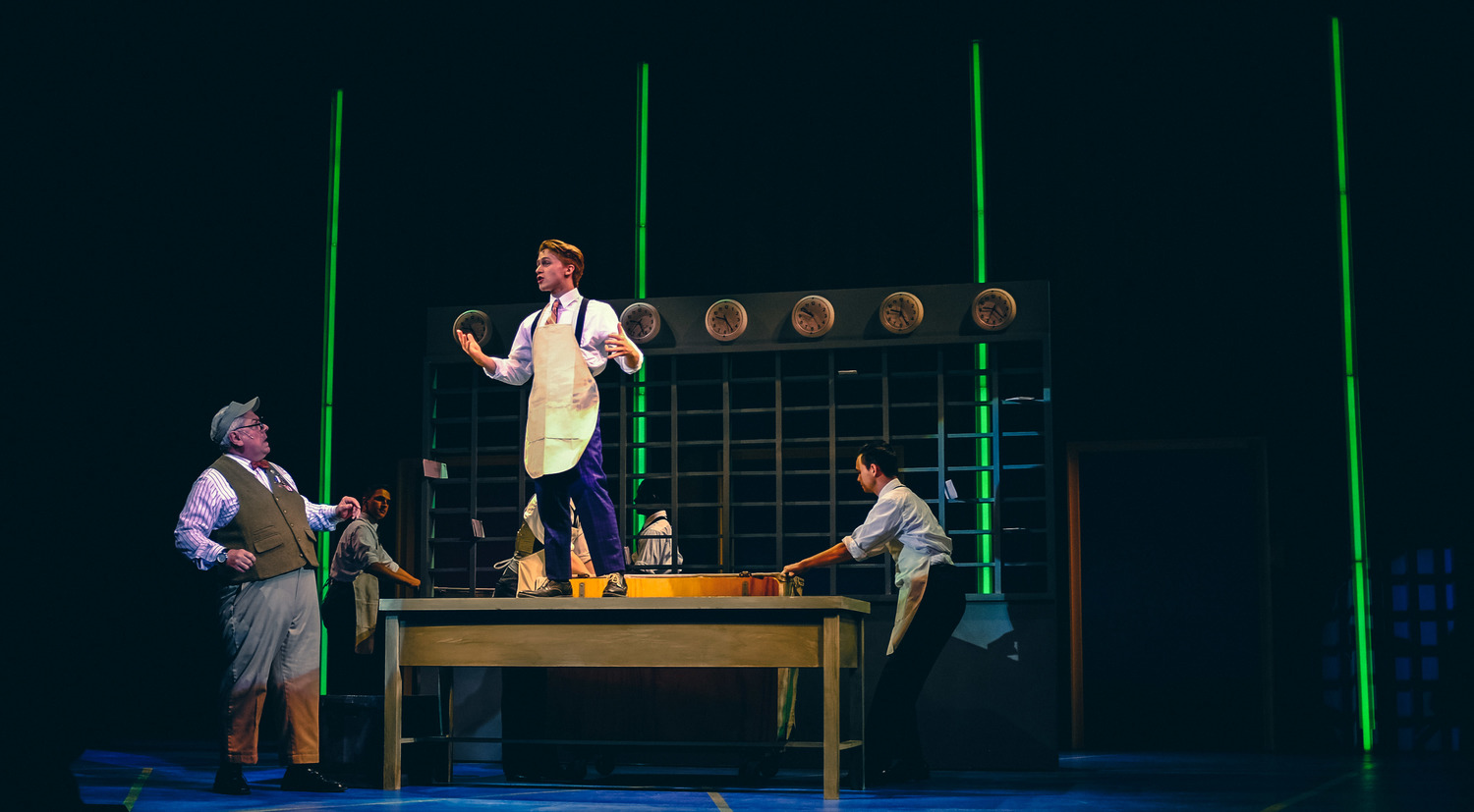 How To Succeed In Business Without Really Trying  starring Steve Hayes & Riley Costello.