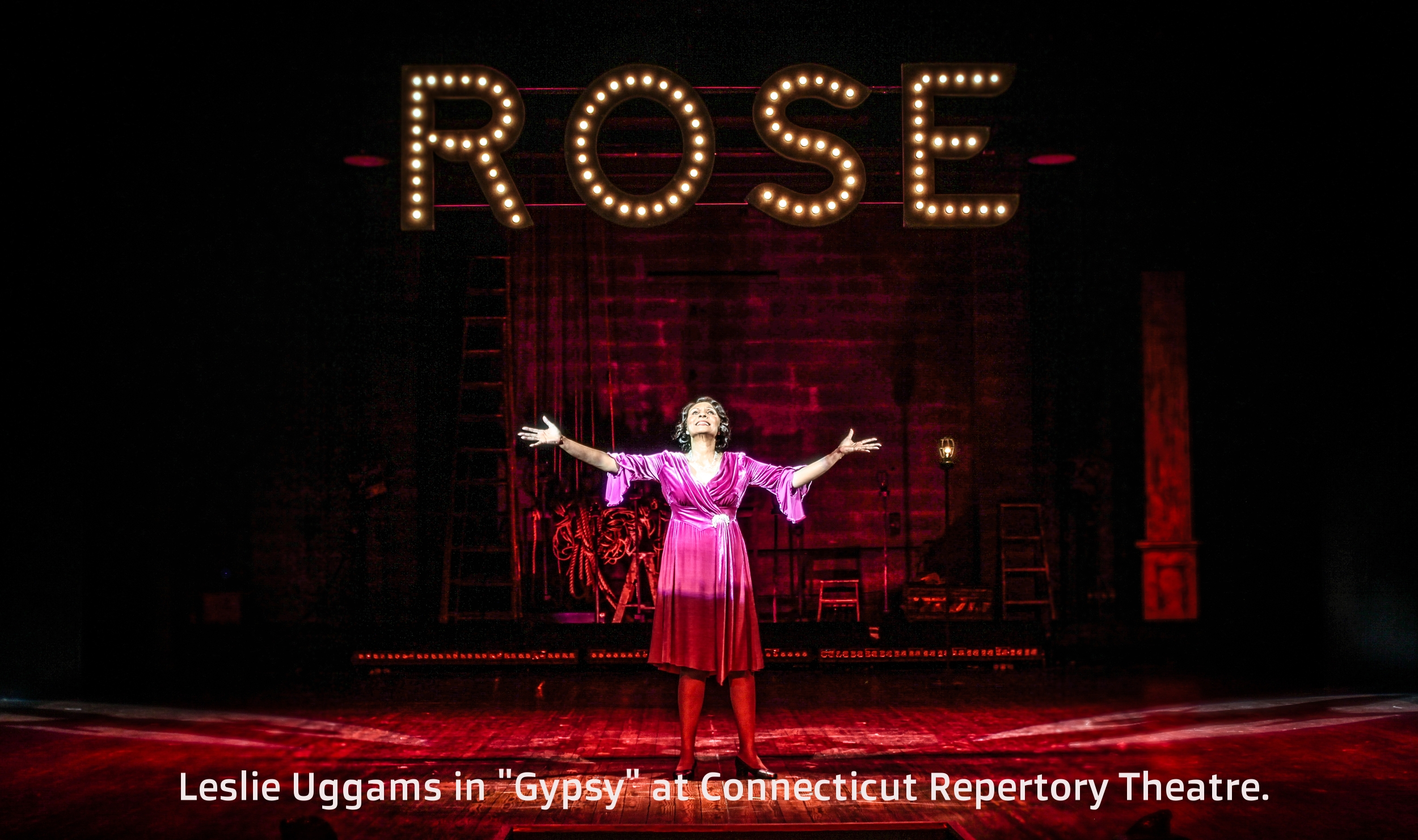 Leslie Uggams in  Gypsy  at Connecticut Repertory Theatre. Directed and Produced by Vincent J. Cardinal