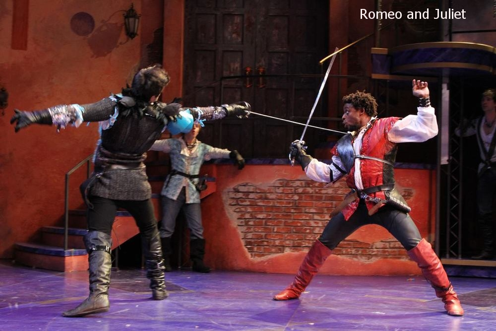 Romeo and Juliet  at Connecticut Repertory Theatre Directed and Produced by Vincent J. Cardinal