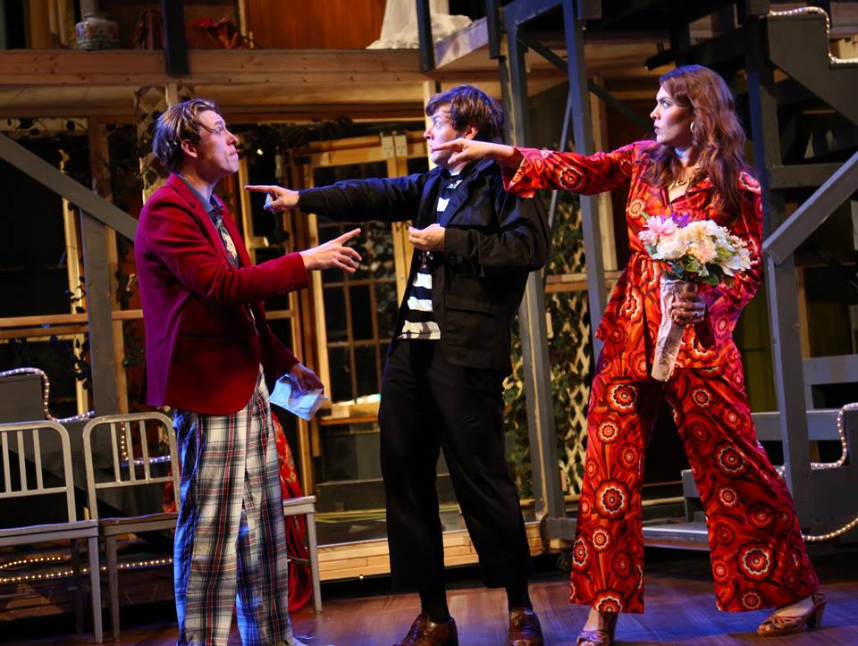 Noises Off  by Michael Frayn at Connecticut Repertory Theatre With Jennifer Cody, Michael Doherty, Steve Hayes, John BIxler, Gavin McNicholl, Curtis Longfellow, Arlene Bozich, Grace Allyn, and Jayne Ng
