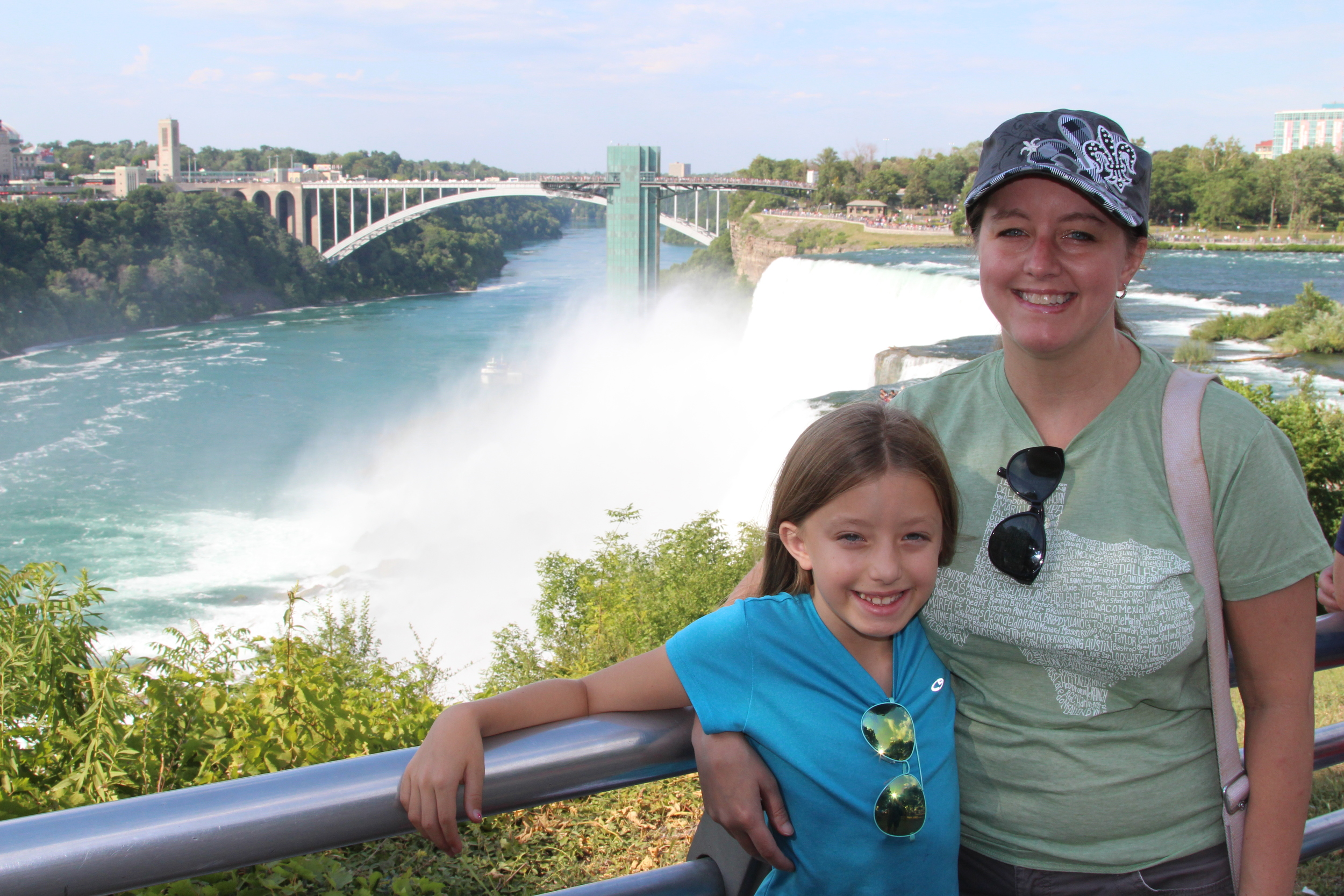So happy to be seeing the Falls with my girl!